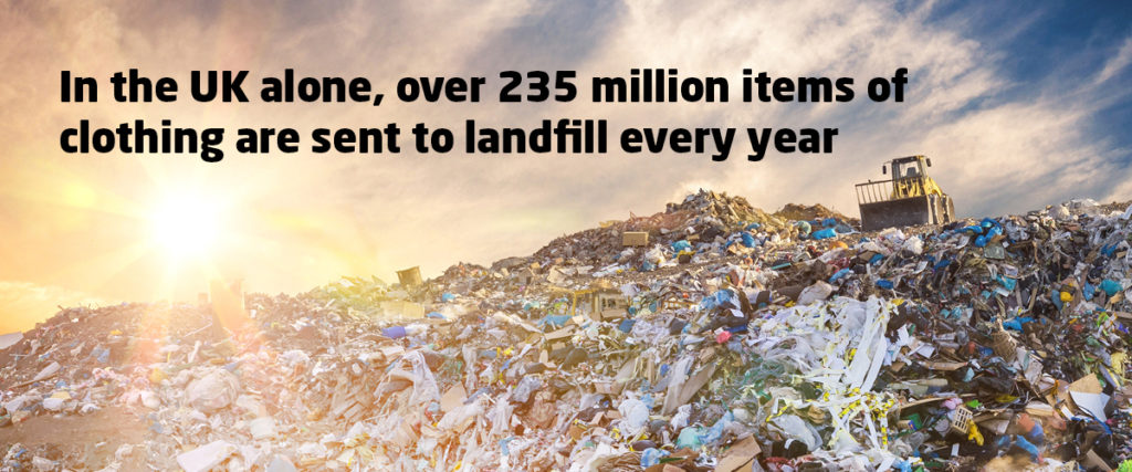 235 Million Items of Clothing Sent to Landfill Every Year