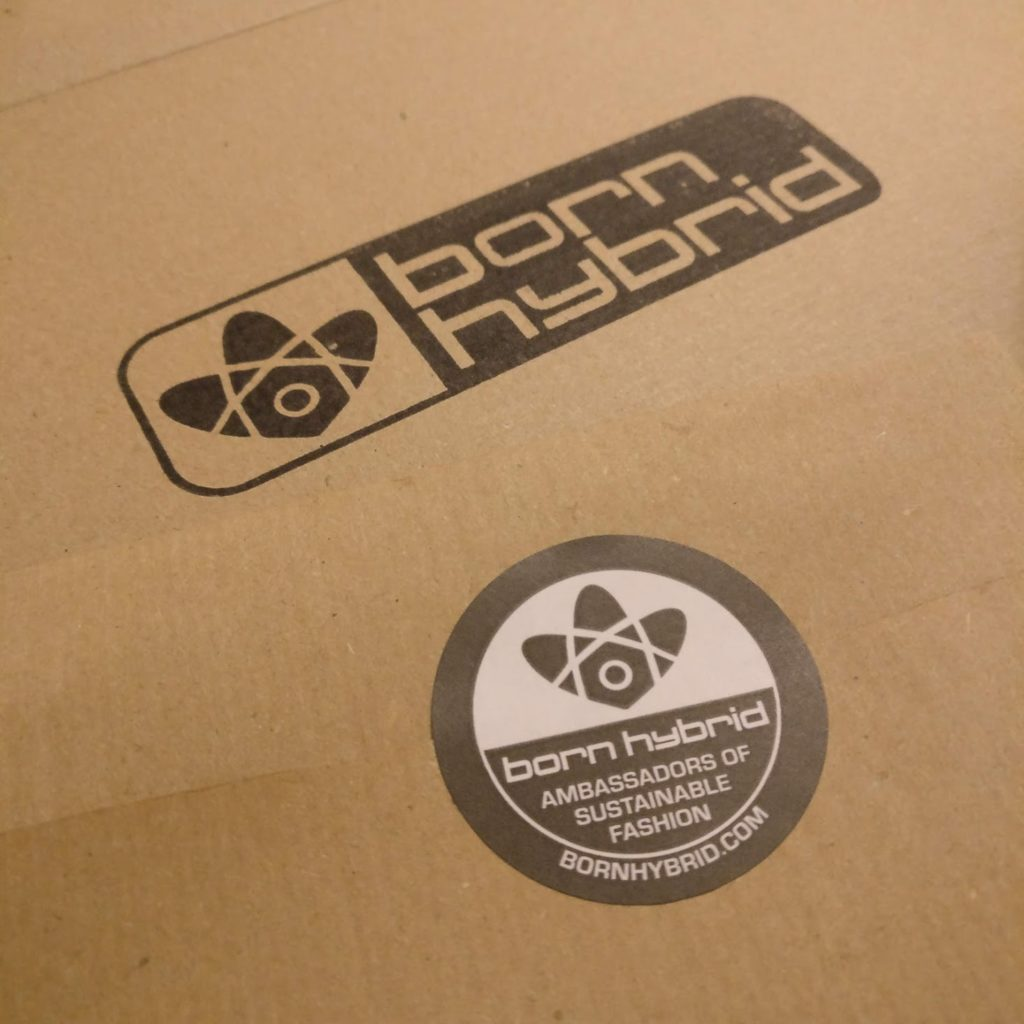 Sustainable Clothing Brand Born Hybrid's Recyclable Paper Packaging