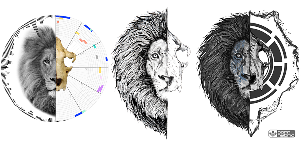 lion design process