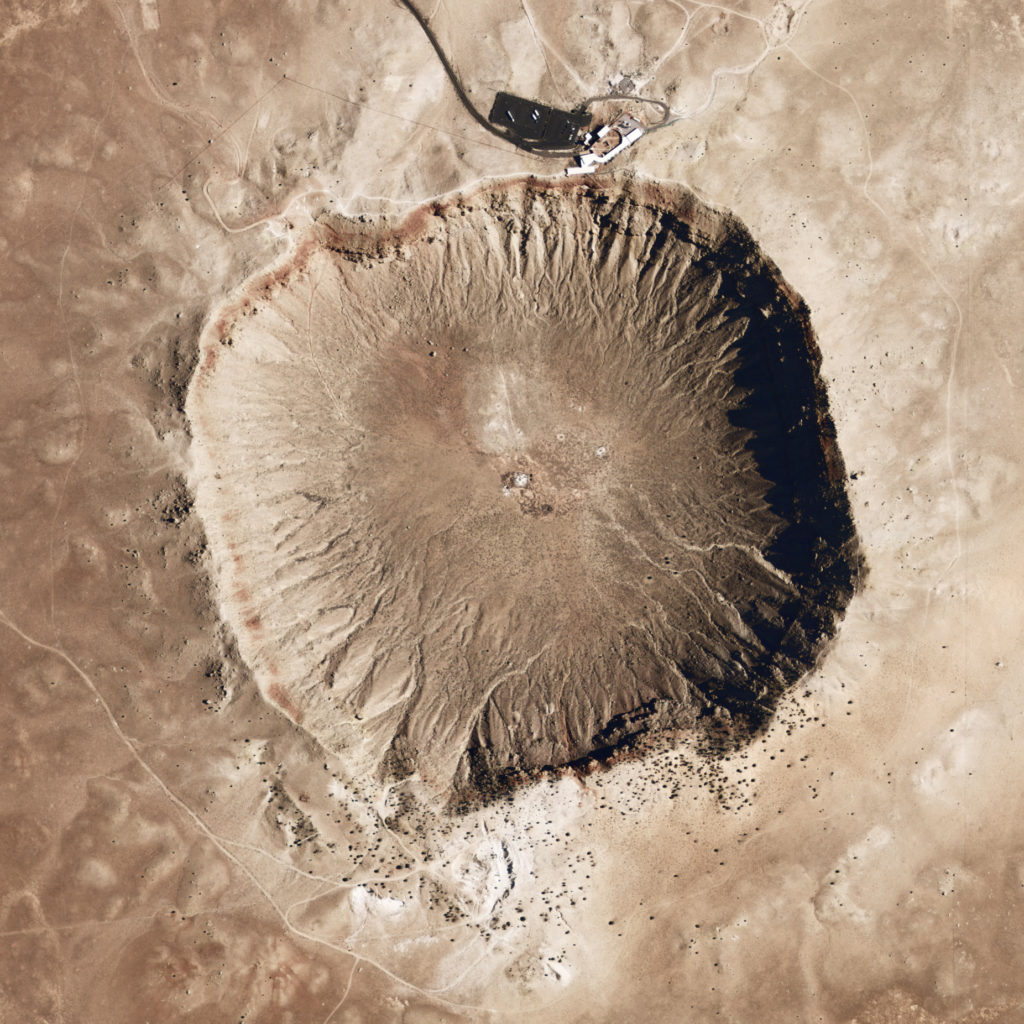 Giant Meteor Crater