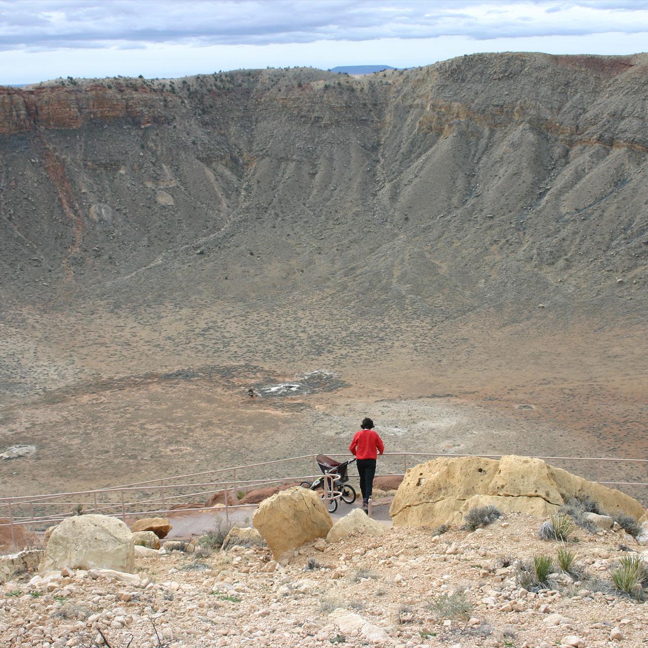barringer meteor crater arizona