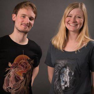 Emily and Ashley Sustainable clothing brand founders